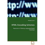 HTML Encoding Schemes