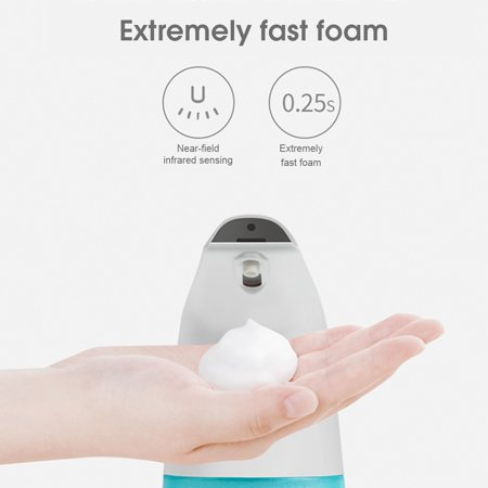 400ML Automatic Soap Dispenser Touch-less Infra-red Sensor Foaming Soap Dispenser IPX3 Waterproof - image 4 de 7