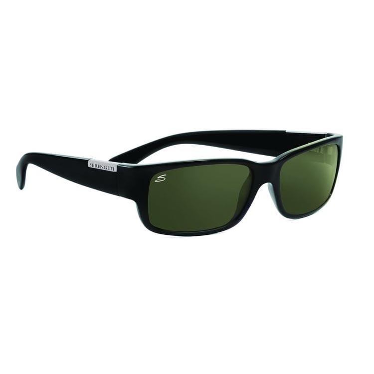 4384c3967f2b Serengeti Eyewear - Sunglasses Medium Aviator 7190 Gunmetal Frame 555nm  Polarized - Walmart.com