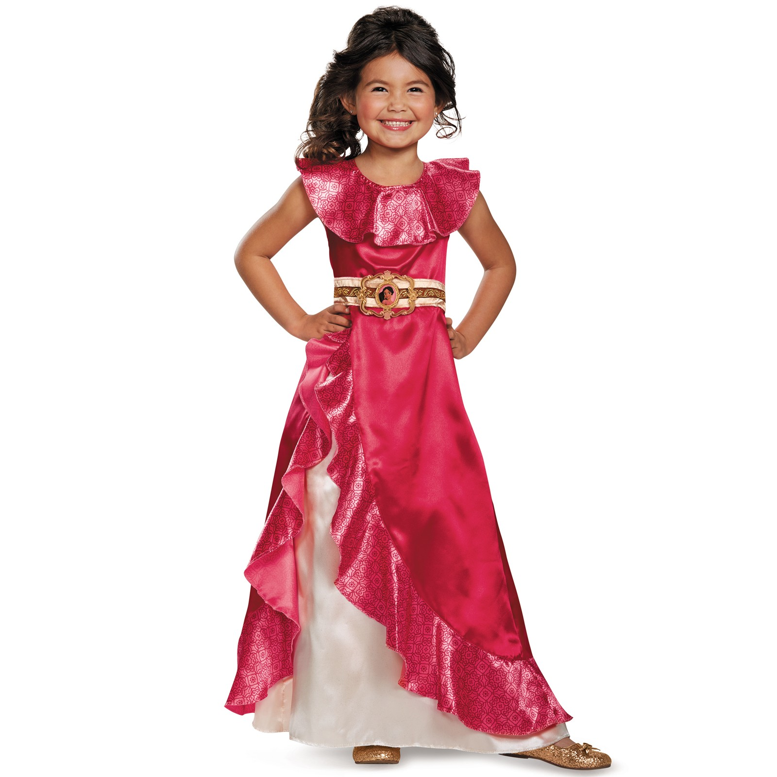 Elena of Avalor: Elena Adventure Dress Classic Toddler Costume