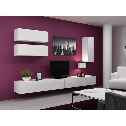 Orren Ellis Jaggers Entertainment Center for TVs up to 70''