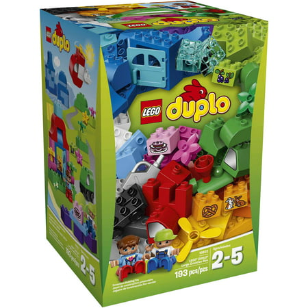 Lego duplo my first lego duplo large creative box for Modele maison lego duplo