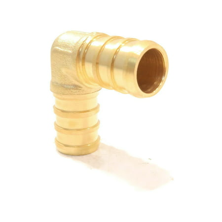 Brass 90 Elbow - (100) 1/2