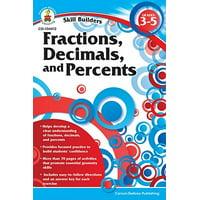 Fractions, Decimals, and Percents, Grades 3 - 5