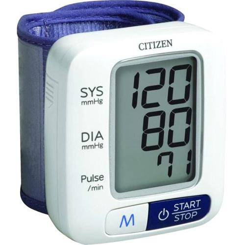 Veridian Healthcare Blood Pressure Monitor - Single Button Operation, Auto Shutoff, Backlit Digital Display, Average Sys