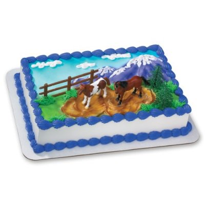 Decopac Horses DecoSet Cake Topper - Horse Themed Cakes