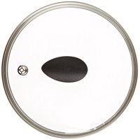 "8"" Earth Frying Pan Lid in Tempered Glass, by Ozeri"