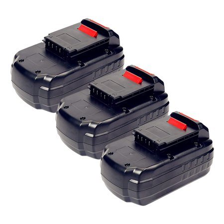 Replacement Battery For PC1800D Power Tools - PC18B (3000mAh, 18V, NiCD) - 3 Pack