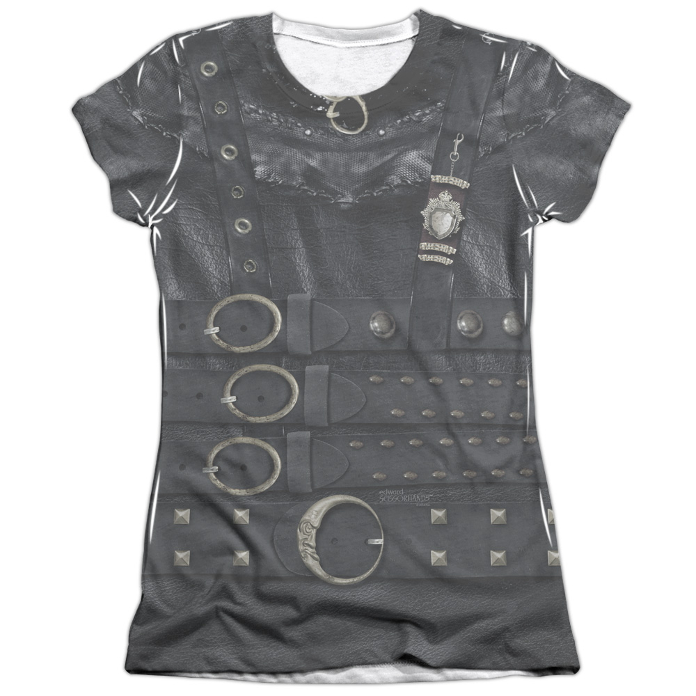 Edward Scissorhands Edward Costume Juniors Sublimation Shirt