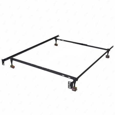 Heavy Duty Metal Bed Frame Adjustable Queen Full Twin Size Platform ...