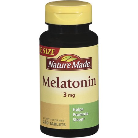 Nature Made Melatonin 3mg Dietary Supplement Tablets