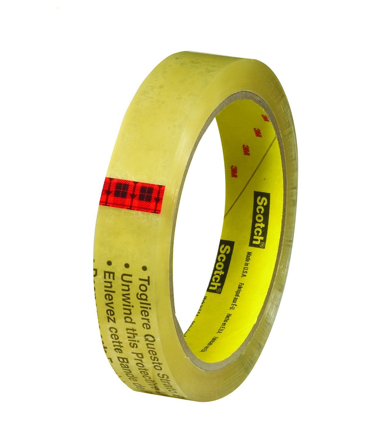Permanent 3//4 x 1296in 12Rolls Scotch cat.665 Double Sided Tape