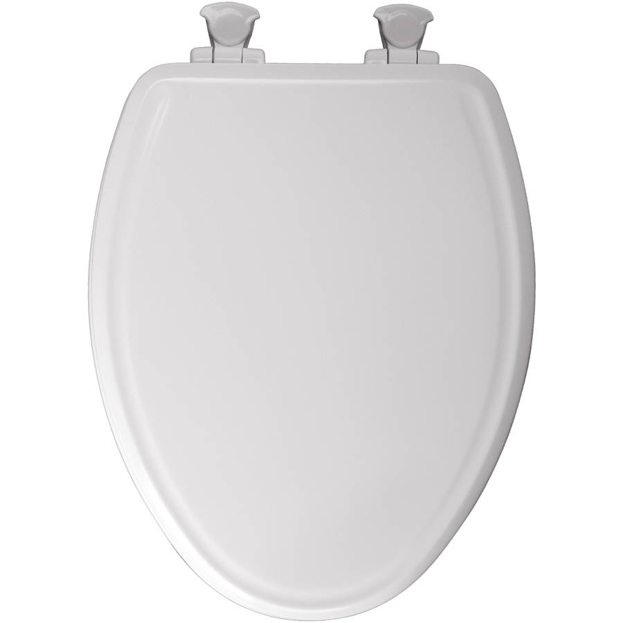 Bemis 1500EC Lift Off Wood Elongated Toilet Seat Available in