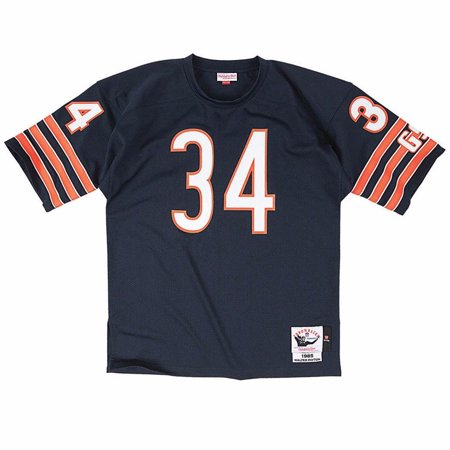 669d17ccd Walter Payton Chicago Bears NFL Mitchell   Ness Men s Navy Blue Authentic  Throwback Home Jersey - Walmart.com