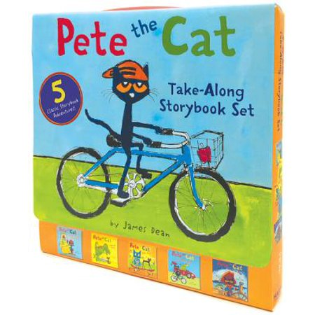 Pete The Cat Classroom Decorations (Pete the Cat Take-Along Storybook Set : 5-Book 8x8)