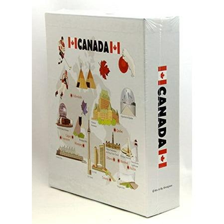 Canadian Album (Canada Embossed Photo Album 200 Photos / 4x6 )