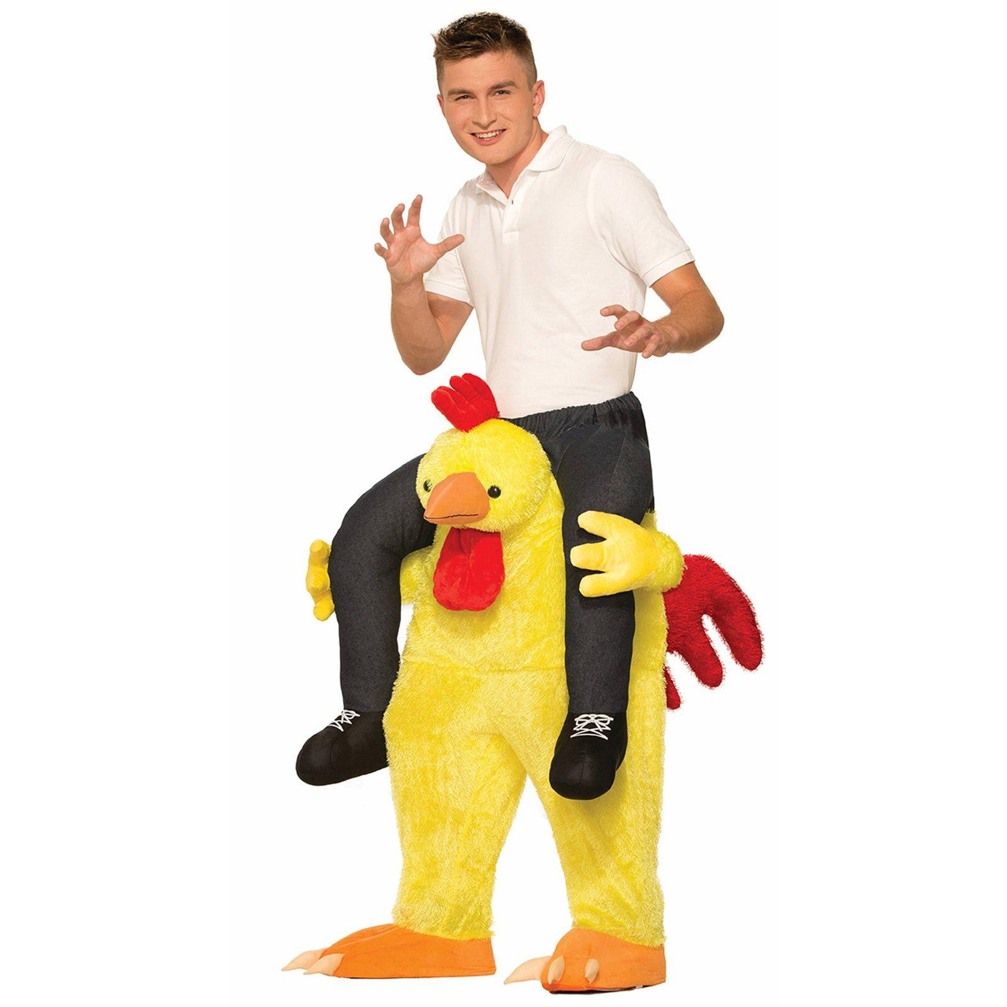 Adult Chicken Fight Men's Adult Halloween Costume, 1 Size