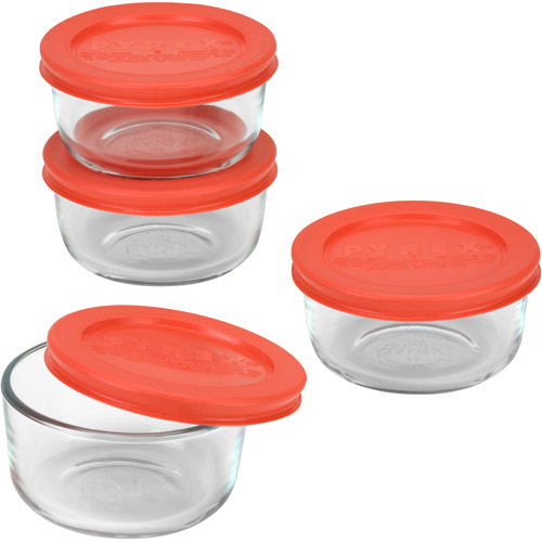 Pyrex 8-Piece 1-Cup Storage