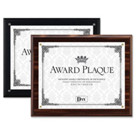 Black Award Plaque (The Burns Group DAXN15908NT Award Plaque- Vertical-Horizontal- 8-.50in.x11in.- Black)
