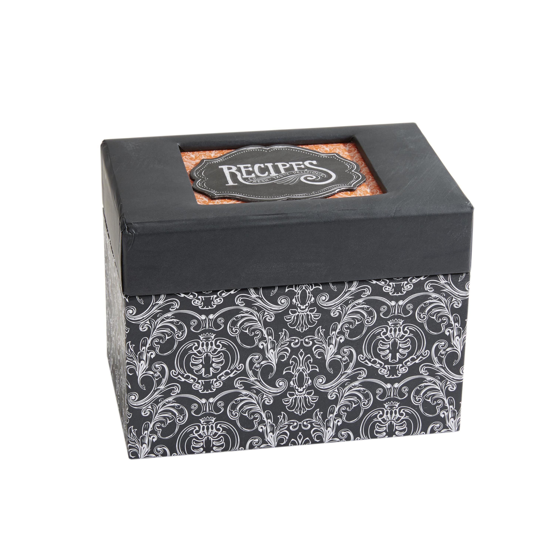 C.R Gibson Recipe File Box (1CT)