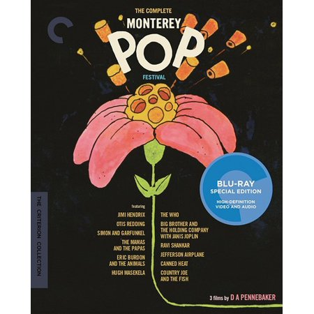 CRITERION COLLECTION: The Complete Monterey Pop Festival