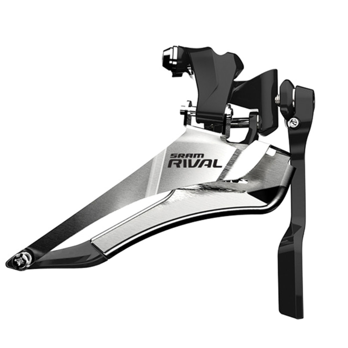 SRAM Rival 22 Braze On Yaw Front Derailleur with Chainspotter