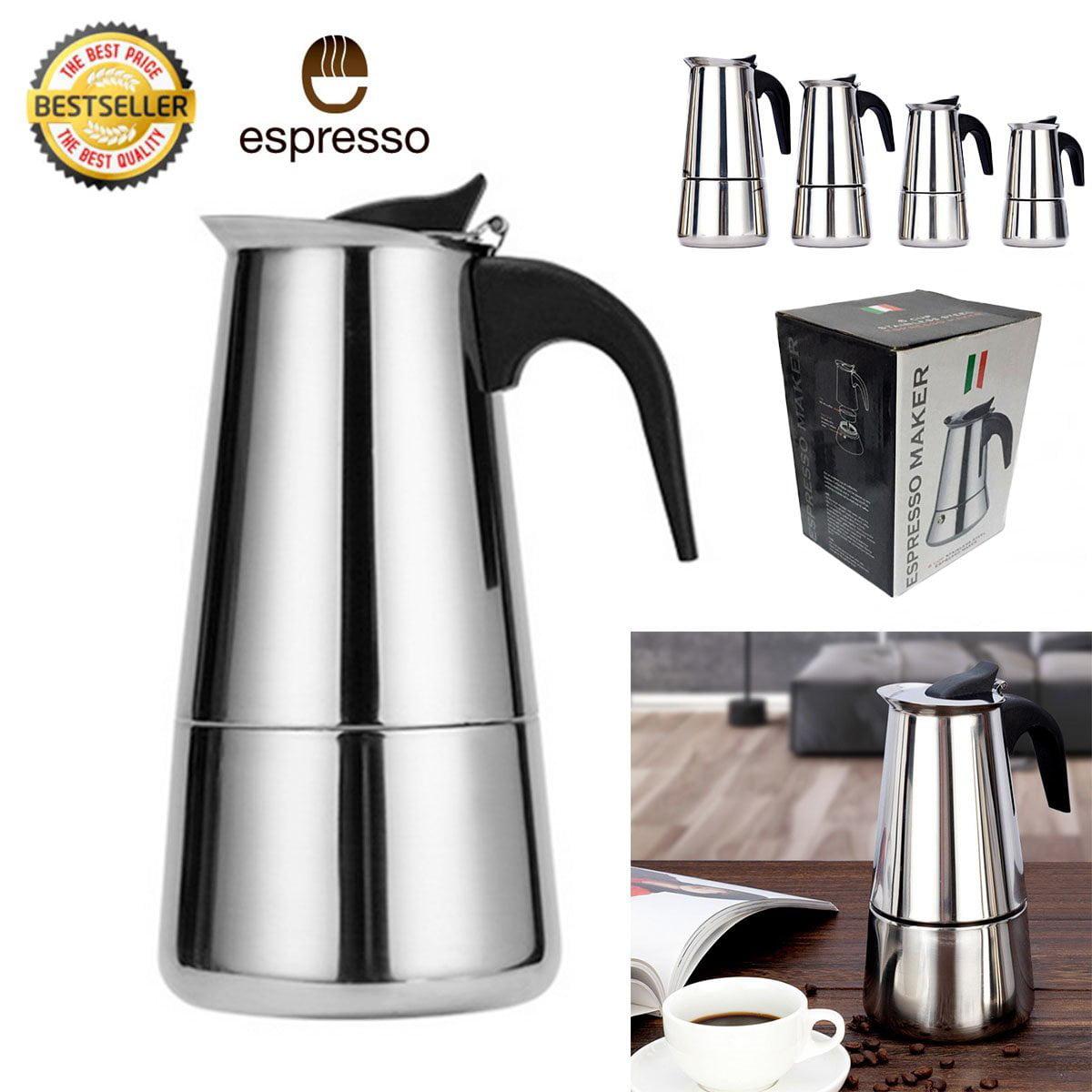 Stainless Steel Italian Espresso Coffee