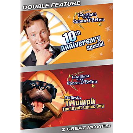 Late Night With Conan O'Brien: 10th Anniversary Special / The Best Of Triumph The Insult Comic Dog (Full