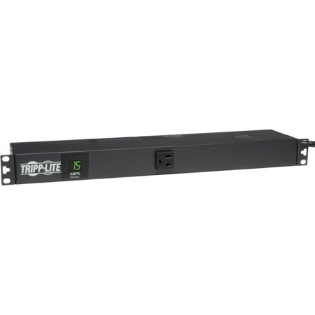 Tripp Lite PDUMH15 Metered 15A Multi Outlet PDU - 13 x NEMA 5-15R - Zero U  Vertical Rackmount, 1U  Rack-mountable