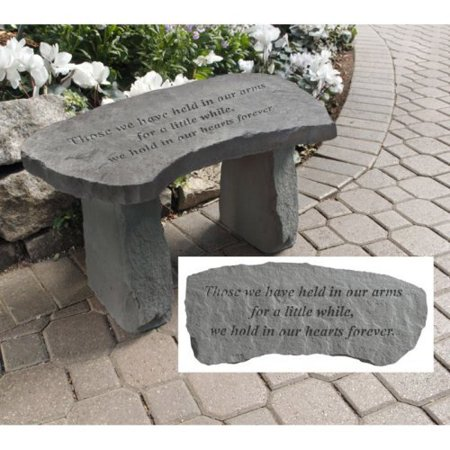 Design Toscano In Our Hearts Forever Cast Stone Memorial