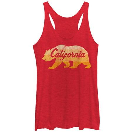 4888ab12d179b Women s California Golden Bear Racerback Tank Top - Walmart.com