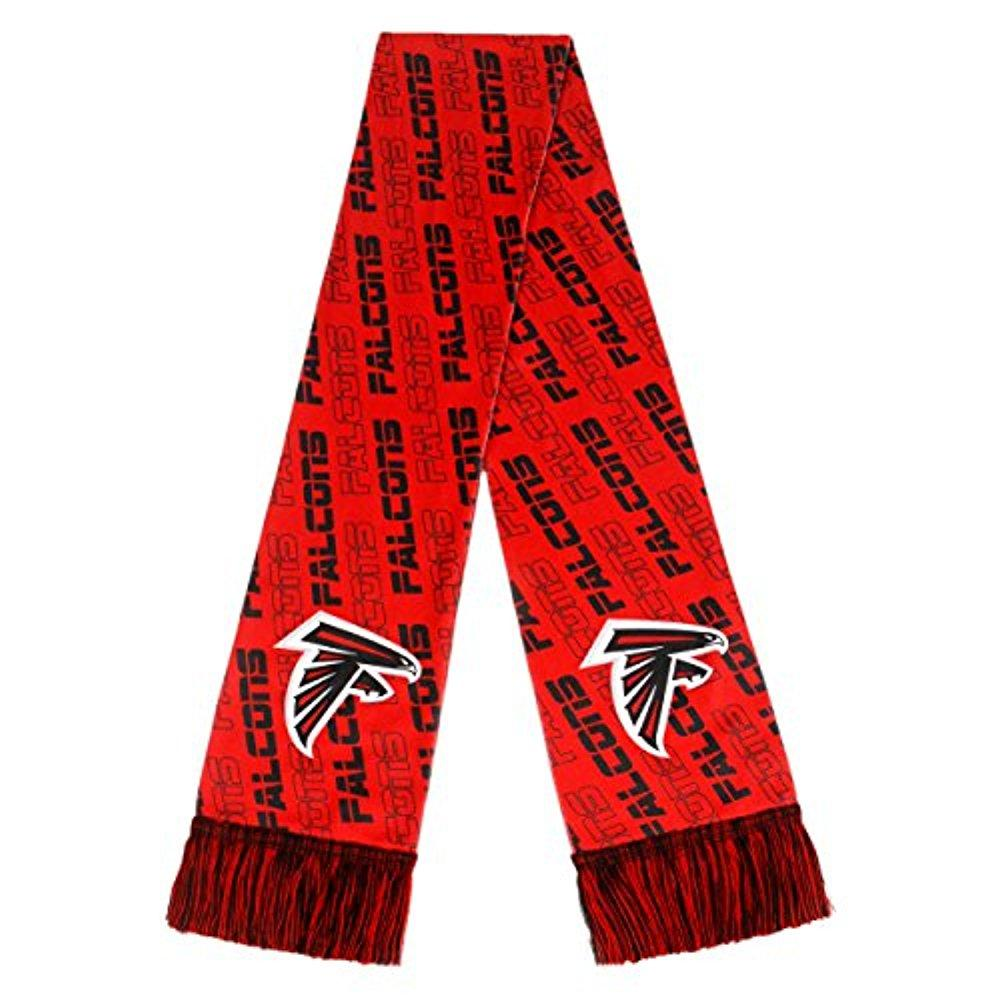 Forever Collectibles NFL Atlanta Falcons Game Winner Jacquard Scarf, Red