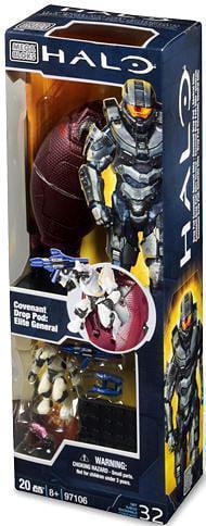 Mega Bloks Halo Covenant Drop Pod: Elite General Set #97106 by