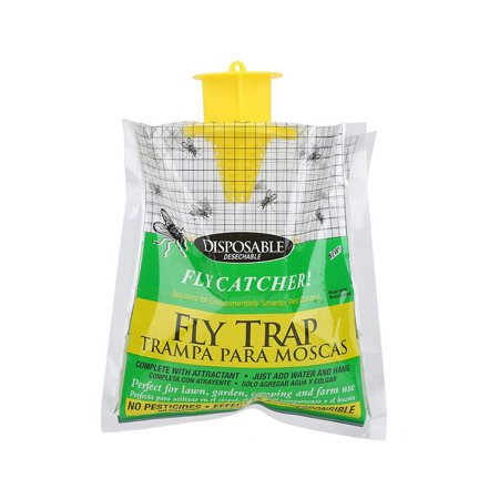 - Disposable Fly Trap Catcher Practical Effective Pest Control Insect Trap Non-toxic Hanging Style Catcher Fly Trap Bag