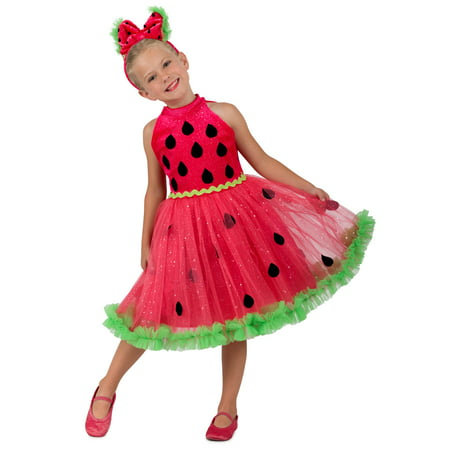 Watermelon Miss Girls Costume - Water Melon Costume