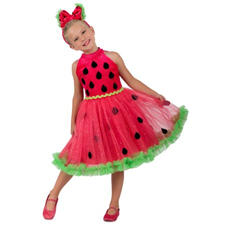 Watermelon Miss Girls Costume](Halloween Watermelon)