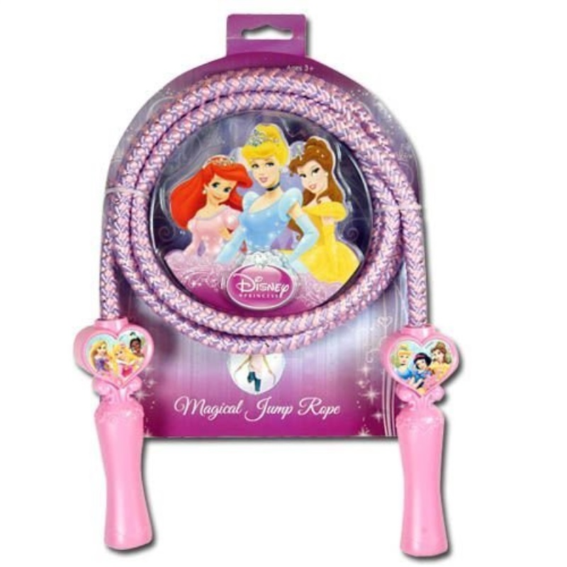 DDI 1471932 Disney Princess Deluxe Jump Rope Shaped Handles Case Of 24