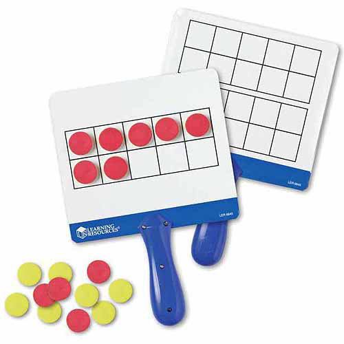 Learning Resources Magnetic Ten-Frame Answer Boards