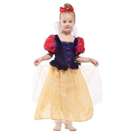 Princess Headpiece - Luxury Girls' Snow Princess Dress-Up Costume Set with Headpiece, M