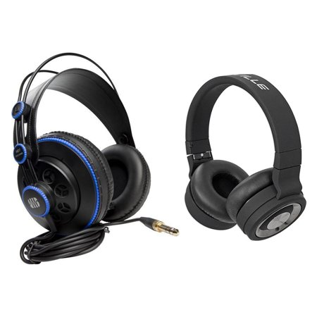 Presonus HD7 Pro Studio Monitoring Headphones+Wireless Bluetooth Headphones