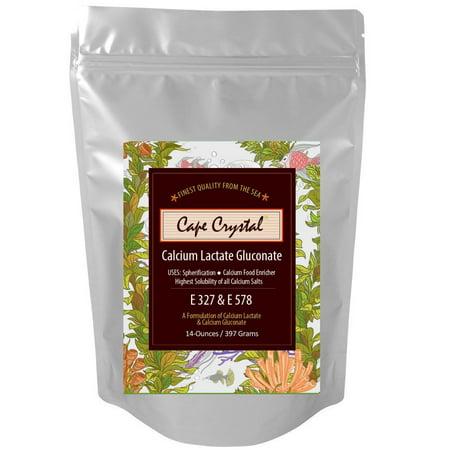 Calcium Lactate Gluconate - 14-oz Cape Crystal Brands