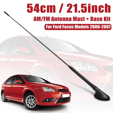 1 Set Roof Mount AM/FM Radio Signal Antenna Mast + Base For Focus Models 2000-2007 Car Accessories