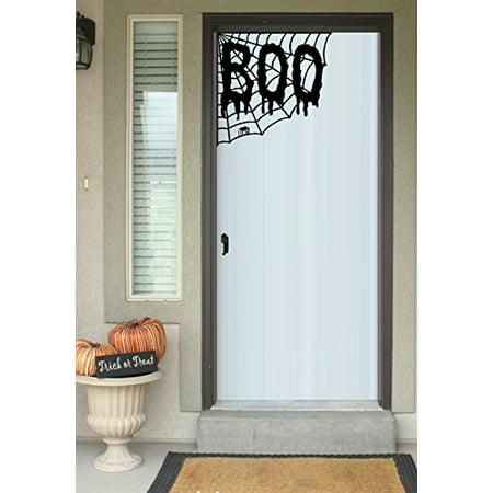Decal ~ BOO WEB ~ HALLOWEEN: WALL OR WINDOW DECAL, HOME DECOR 13