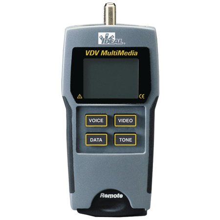 Vdv Multimedia Cable Tester (Brand New IDEAL 33-856 VDV Multimedia Cable Tester )