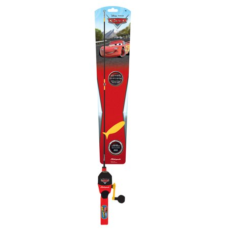 Shakespeare Disney Cars Youth Fishing Kit (Best Ice Fishing Pole)