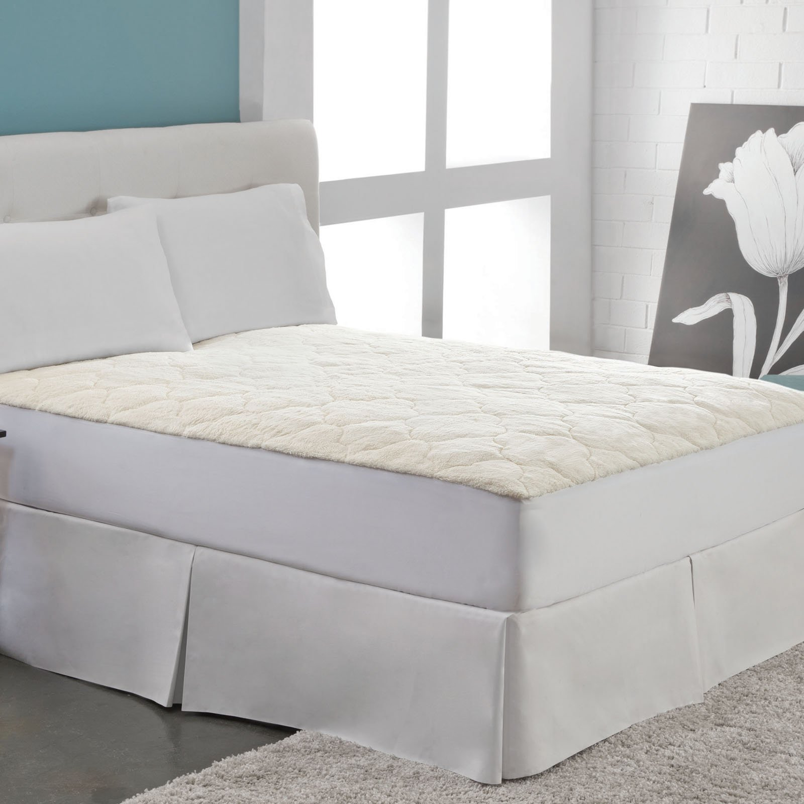 Cotton Fleece Mattress Pad by Perfect Fit Industries