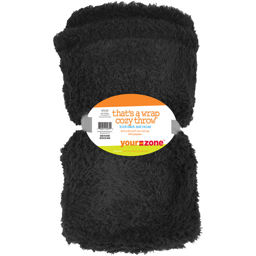 your zone watergrass throw, rich black