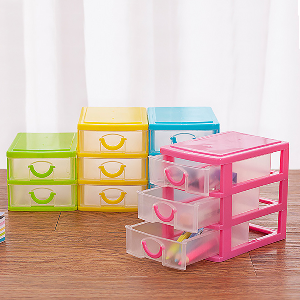Moderna Layers Drawer Desk Organizer Storage Boxes Containers Jewelry Cosmetics Case