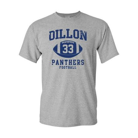 Dillon Football Retro Adult DT T-Shirt Tee ()