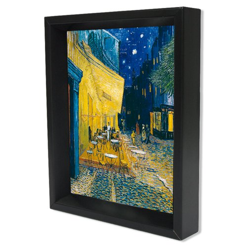 Pyramid America Van Gogh Cafe Terrace Framed Painting Print